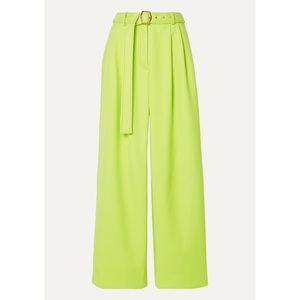 NWT   SIES MARJAN Trousers in Lime Green